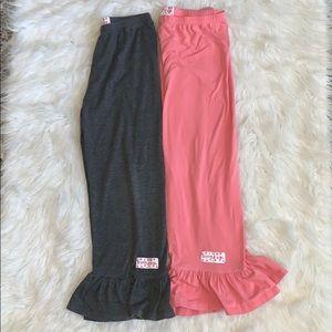 Ruffle girl Big ruffle pants bundle 12/14